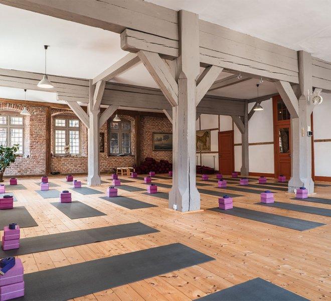 Un aperçu de la salle de votre club de Yoga à Sélestat